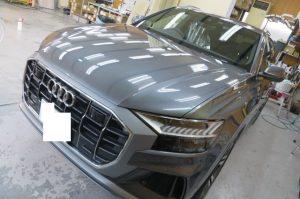 Audi Q8 ガラスコーティング