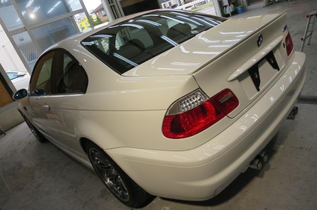 BMW M3 ガラスコーティング 大阪