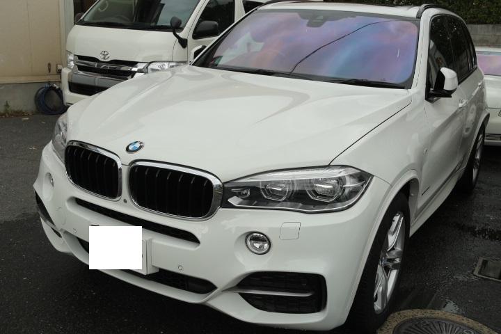 BMW ゴースト フィルム施工 反射フィルム 遮熱フィルム 大阪