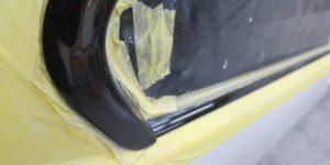 BMW ガラスコーティング 雨染み除去 モール磨き 大阪 東大阪