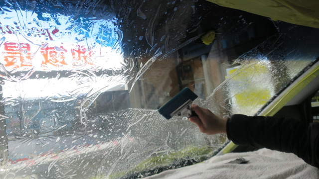 カーフィルム 透明遮熱フィルム ウィンコス シルフィード 大阪 東大阪 カービューティ・マジック
