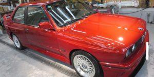 ボディコーティング カーコーティング ガラスコーティング クリスタルコーティング 大阪 東大阪 カービューティ・マジック BMW E30